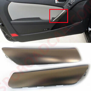 Inside Door Grip Handle Outer Cover Lh Rh 2p For 2012 16 Genesis Coupe Parts