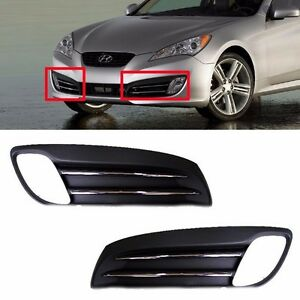 Fog Light Lamp Light Cover Set 2ps For 2009 11 Genesis Coupe Genuine Parts