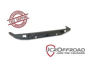 Jcr Offroad Crusader Front Bumper W Hitch Black Pc 84 01 Jeep Cherokee Xj