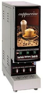 Grindmaster cecilware 3k gb ld 3 flavor Hot Powder Cappuccino hot Chocolate And