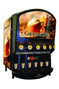 Grindmaster cecilware Pic6 6 Flavor Hot Powder Cappucino hot Chocolate And Spe