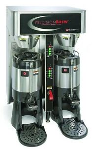 Grindmaster cecilware Pbic 430 Twin Digitally Controlled Brewer With Stand 120