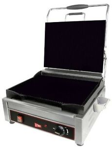 Grindmaster cecilware Sg1lf Single Plus Flat Sandwich panini Grill 14 125 By 11