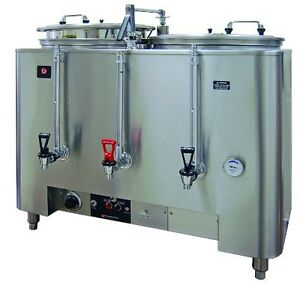Grindmaster cecilware 8106 e Amw Twin Space 2 liner Saver Coffee Urn 6 gallon