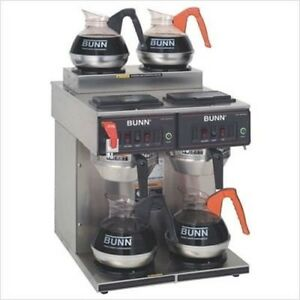 Bunn o matic 23400 0001 Coffee Brewer 2 upper 2 lower Warmers Pourover Feature