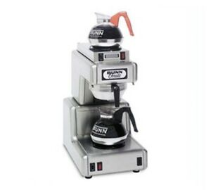 Bunn 12 Cup Automatic Coffee Brewer With 2 Warmers ot15 0000