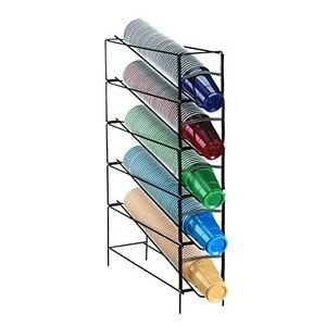 Dispense rite Wr ct 5 5 section Beverage Cup Dispensing Rack