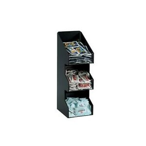 Dispense rite Vco 3 Three Section Countertop Vertical Lid condiment Organize
