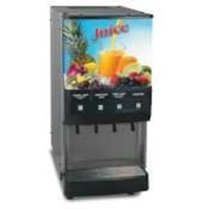 Bunn O Matic Jdf 4 S Silver Series 4 Flavor Gourmet Ice Cold Beverage System L