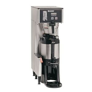 Bunn 34800 0017 Brewwise Single Thermofresh Dbc Brewer With Funnel Lock 120v