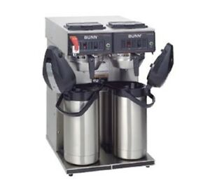 Bunn 12 Cup Automatic Coffee Brewer With 6 Warmers cwtf 0 6 0020