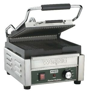 Waring Commercial Wpg150 Compact Italian style Panini Grill