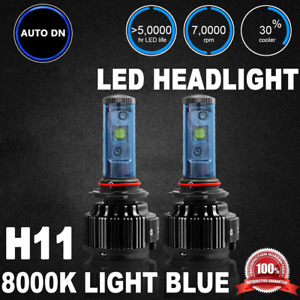 2x Cree High Power Led Headlight Low Beam Lamp Light Bulbs H11 8000k