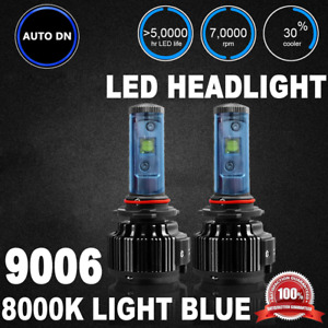 2x High Power Cree Led Headlight Low Beam Light Bulbs 9006 8000k White Headlamp
