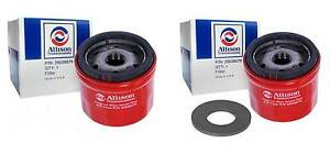 Allison Transmission T1000 Spin On Filters 2 Pack With One Magnet