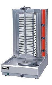 Uniworld Electric Countertop Vertical Shawarma Broiler With 3 Independent Contro