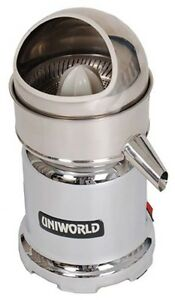 Uniworld Ujc n50 Stainless Steel Commercial Citrus Juicer