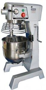Uniworld Upm 30e 30 Quart Mixer With Guard And 3 Attachments