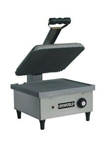 Uniworld usasx Commercial Panini Grill