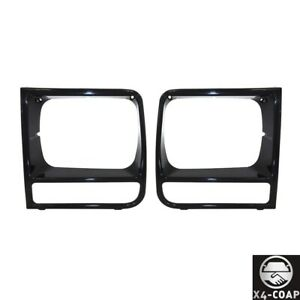 For Jeep Cherokee Front Left Right Set Of 2 Grille New