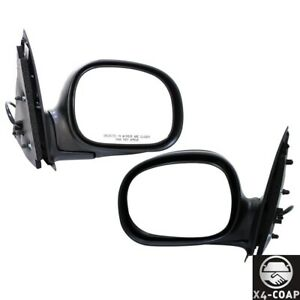For Ford F 150 Heritage F 250 F 150 Front Left Right Set Of 2 Door Mirror New