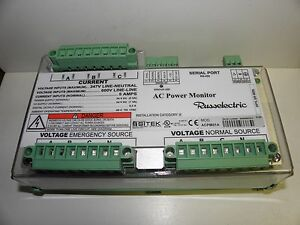 Russelectric Ac Power Monitor Sitek Acpm01a