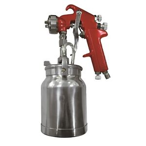 Astro Pneumatic Auto Paint Spray Gun With 1 8mm Nozzle 1 Qt Dripless Cup 4008