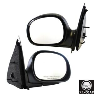 For Ford F 250 f 150 Driver And Passenger Pair Set Door Mirror New