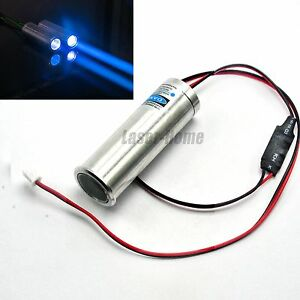 450nm 100mw Blue Laser Dot Module Thick Fat Beam Bar Stage Light 3 6 5v