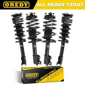 Set Of 4 For Saturn Sc Sl Sw Quick Complete Struts Coil Spring Assemblies