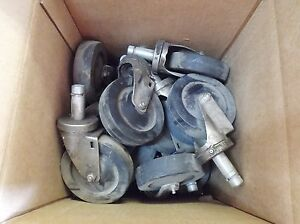 Casters 5 lot Of 20 Used