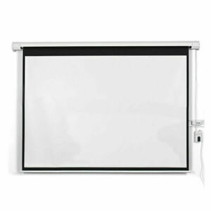 100 16 9 Hd Foldable Electric Motorized Projector Screen Remote
