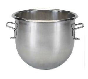Globe Food 10 Qt Stainless Steel Bowl For Sp10 Mixer