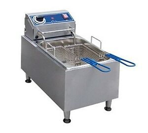 Globe Countertop 10lb Deep Fryer Pf10e