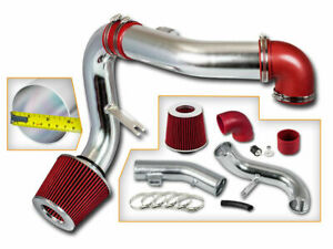 Bcp Red 05 10 Chevy Cobalt 2 2l 2 4l L4 Lt Ls Sport Cold Air Intake Kit Filter