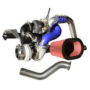 Diesel Power Source 62mm Over S475 Twin Turbo Kit For Dodge Cummins 1994 1998
