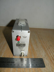 Dymec 1mhz Analog Fiber Optic Data Link Transmitter 7633 6733