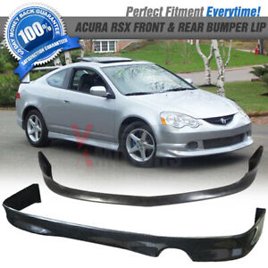 Fits 02 04 Acura Rsx Dc5 As Front Rear Bumper Lip Spoiler
