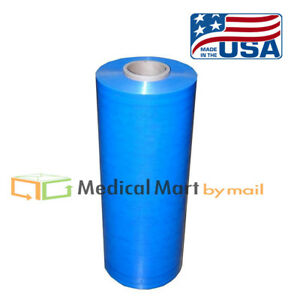 Blue Machine Stretch Wrap Film 30 80 Gauge Machine 5000 20 Rolls