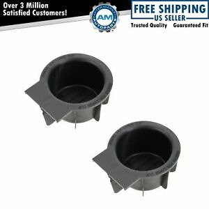 Dorman Center Console Mounted Cup Holder Insert Pair For Ford Lincoln