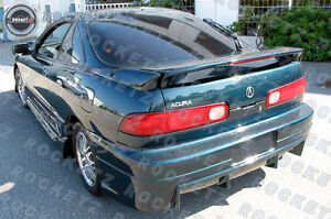 94 01 Acura Integra 3pc Low Trunk Spoiler Rear Wing W Led For 2dr Usa Canada