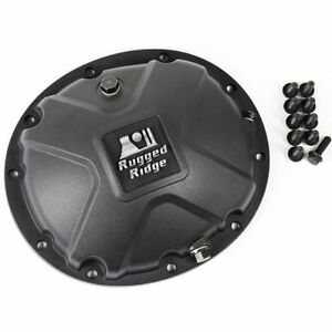 Rugged Ridge 16595 14 Boulder Aluminum Differential Cover For Dana 35 84 06 Jeep
