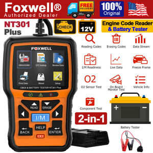 Obdii Automotive Scanner Diagnostic Tool Auto Fault Code Reader Ancel Ad510
