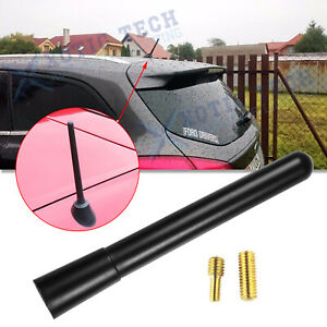 Universal Fit Sport Black Short Stubby Mast Car Truck Am fm Radio Antenna Aerial