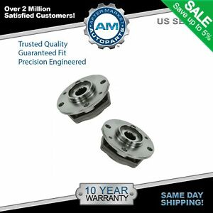 Front Wheel Bearing Hub Left Right Pair Set Of 2 For 90 98 Saab 9000