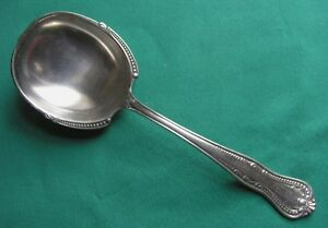 Hallmark Hall Marked Silverplate Casserole Berry Serving Spoon Mono
