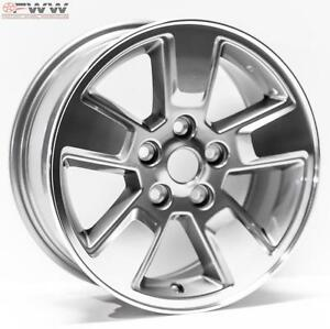 New Replacement Jeep Liberty 16 2008 2012 Cnc Charcoal Wheel Rim 9084