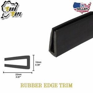 240 Auto Rubber Seal Strip Door Edge Protector Trim Weatherstrip High Quality