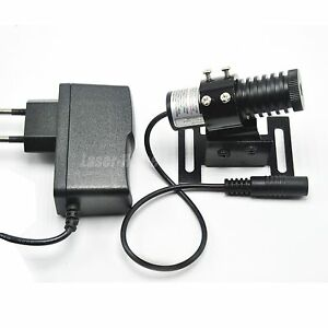 Focusable 850nm 100mw Ir Infrared Dot Laser Diode Module W 5v Adapter