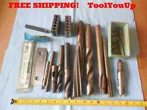 Lot Of Machine Shop Tooling 1 2 3 Blocks Knurling Tool Reamers Drills Bridgeport